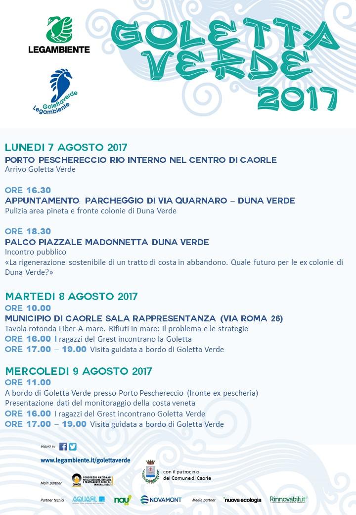 locandina Goletta Verde in Veneto_def